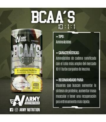 Bcaa 10:1:1 Army Nutrition Piña Coco