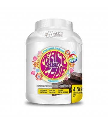 Peace and Love Protein Proteina Vegana 4.5lbs Cacao Matcha