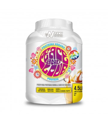 Peace and Love Protein Proteina Vegana 4.5lbs Frappe Caramel
