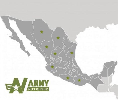 Distribuidores ARMY Nutrition